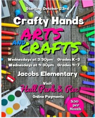 Arts and Crafts at the Jacob School